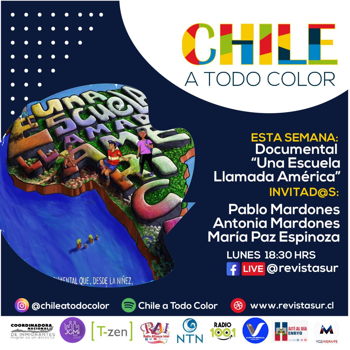 Chile a Todo Color: Documental «Una Escuela llamada América»