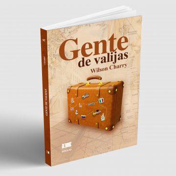 """Periodista colombochileno presenta su primera novela """"Gente de Valijas"""""""