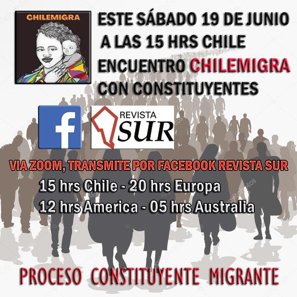 Organizaciones de Chile Migra se reúnen con constituyentes electos