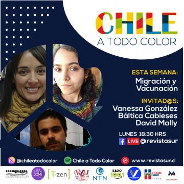 Chile a Todo Color: Vacunación y Migración