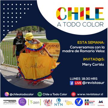 Chila a Todo Color: Conversamos con Mery Cortez, madre de Romario Veloz