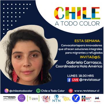 Chile a Todo Color: Hola América