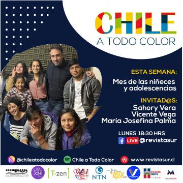 Chile a Todo Color: Mes de las niñeces y adolescencias