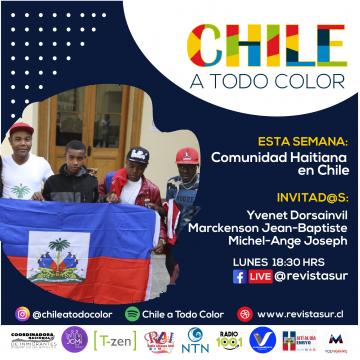 Chile a Todo Color: Comunidad Haitiana en Chile