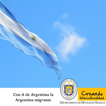 Con A de Argentina la Argentina migrante