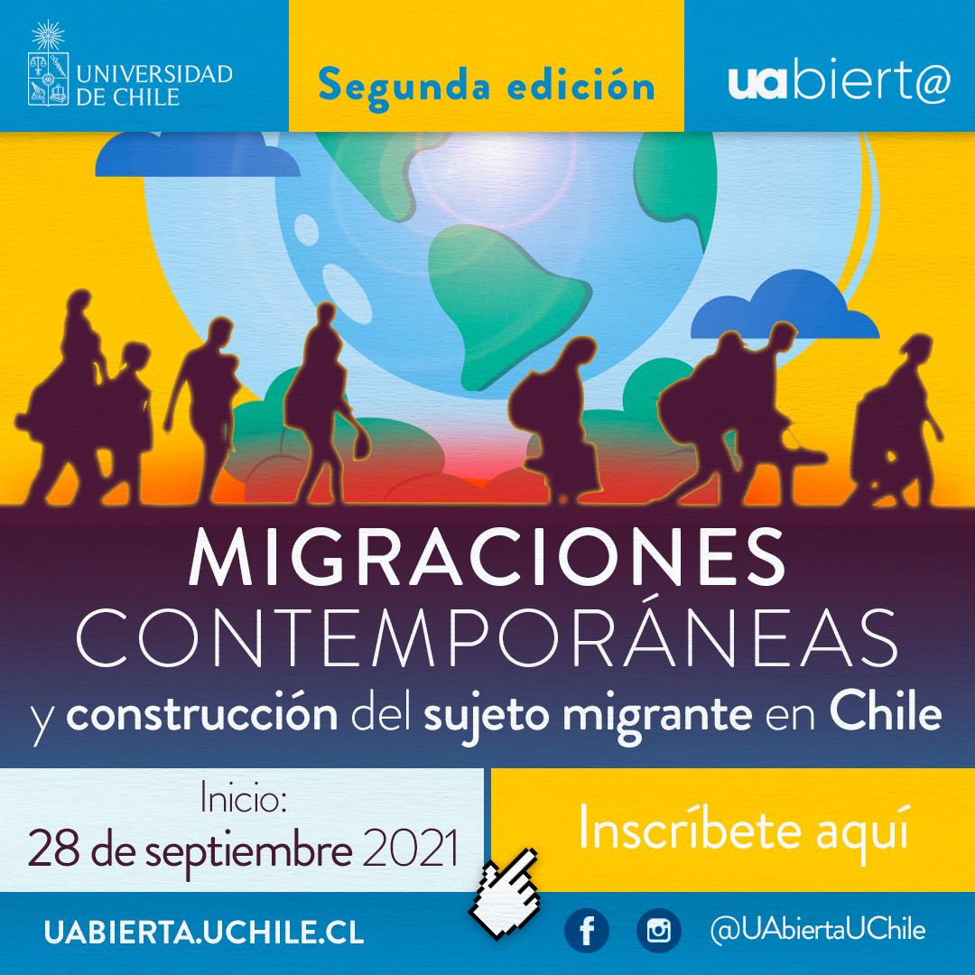 UAbierta de la Universidad de Chile lanza nueva edición de curso sobre migraciones contemporáneas