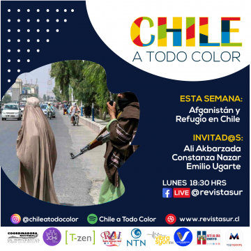 Chile a Todo Color: Afganistán y el Refugio en Chile