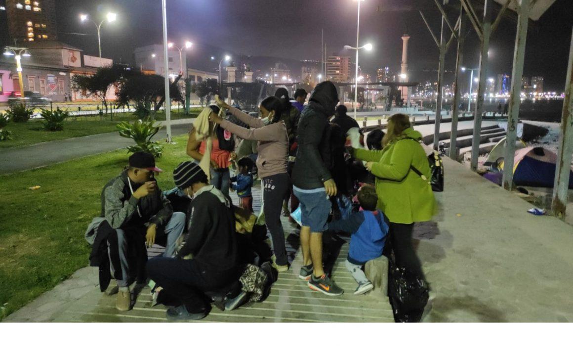 La otra cara de la moneda. La movilización solidaria del pueblo tarapaqueño ante la xenofobia