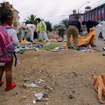 Carta imaginaria de una niñita morena migrante que virtualmente se libró de ser quemada viva ayer por una patota de patrioteros de Iquique, Chile