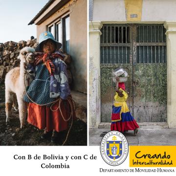 Buscando una vida mejor: Con B de Bolivia y con C de Colombia